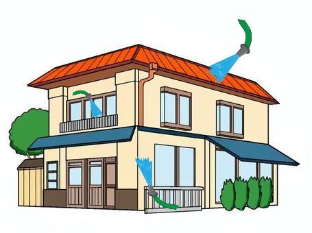 散水調査 住宅