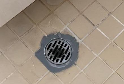 防水劣化 浴室排水口