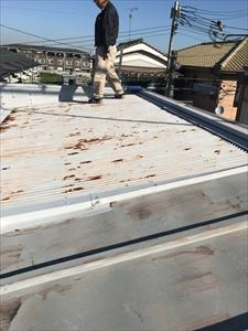現地調査 屋根 水上