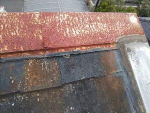 屋根 色褪せやサビ
