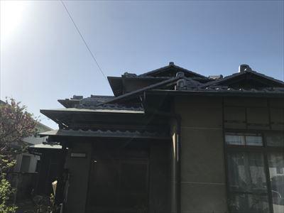 屋根点検 建物全景