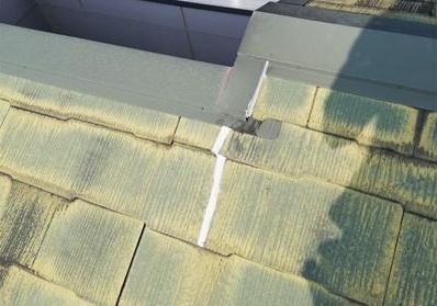 スレート屋根 補修後
