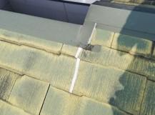 スレート屋根 ひび割れ コーキング補修