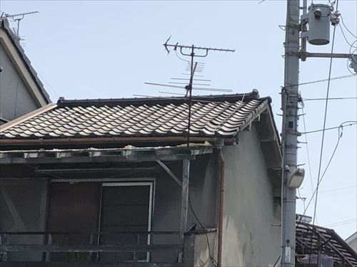 現地調査 住宅の劣化状況