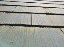スレート屋根 劣化症状 色褪せ