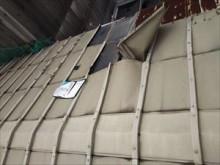 銅板屋根 破損状態②