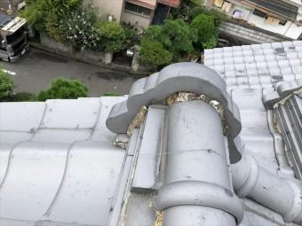 大屋根 鬼 漆喰