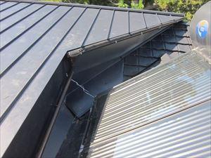 屋根材施工②