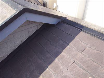 雨漏り箇所 屋根の調査