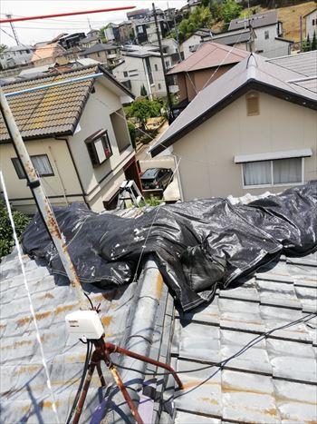 棟 雨漏り 応急処置