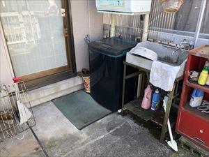 2階ベランダ 防水現地調査②