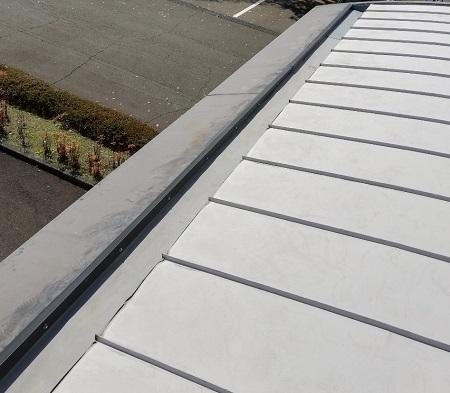 板金カバー工法 雨樋 庇屋根