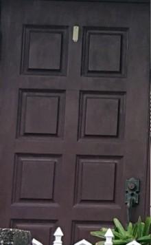 玄関扉 塗装剥がれ