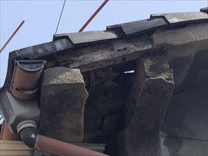 現地調査 屋根の劣化状況