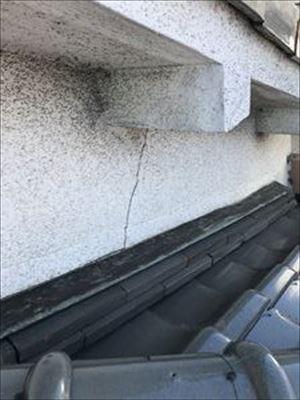 雨漏り調査 壁 クラック