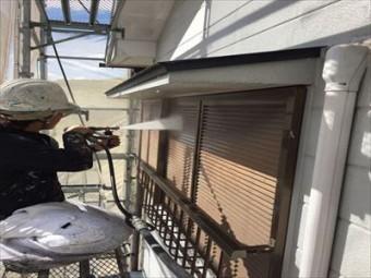 屋根・外壁塗装 高圧洗浄④