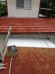 トタン屋根雨漏り 重ね張り工事