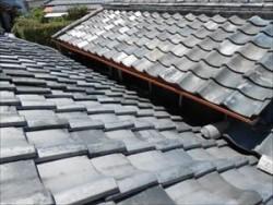 屋根取り合い部分 全景