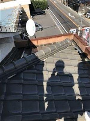 雨漏り調査 大屋根 寄棟