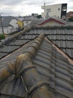 セメント瓦 棟 取合い 雨漏り