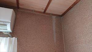 雨漏りの発生 壁のシミ