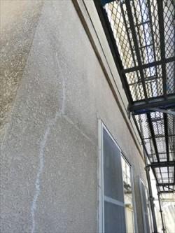 外壁塗装工事前 モルタル