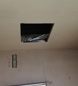 天井点検口 取り付け 雨漏り原因特定