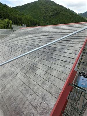屋根塗装 下塗り・シーラー完了