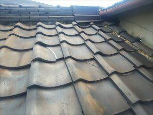 屋根 瓦歪み 劣化状況