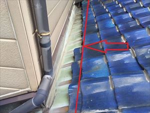 屋根 壁 取り合い部分