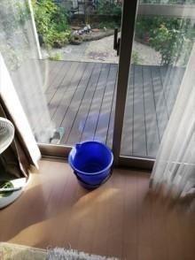 サッシの雨漏り ベランダ防水劣化