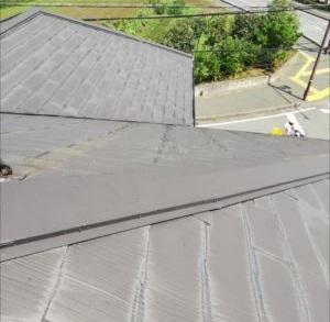 屋根 台風被害 点検