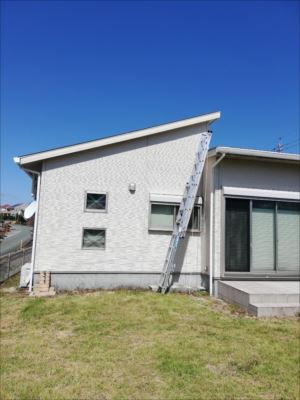 破風板張替え 台風被害 火災保険適用