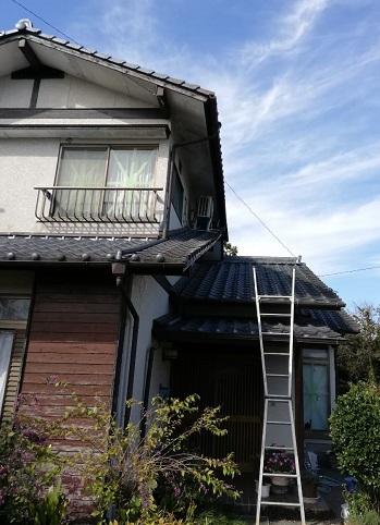 セメント瓦 雨漏り 現地調査 熊本県 菊池市