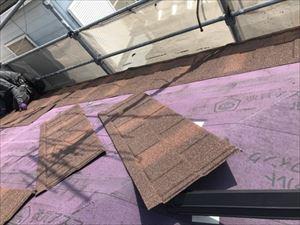 屋根 カバー工法 Tルーフ施工状況②
