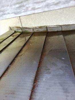 トタン屋根雨漏り 汚れ