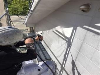 屋根・外壁塗装 高圧洗浄③