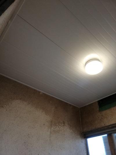 在来工法 お風呂 バスリブ天井 補修工事