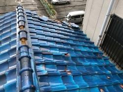 屋根工事 before