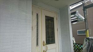 外壁 シーラー下塗り作業