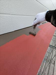 外壁塗装 庇部分