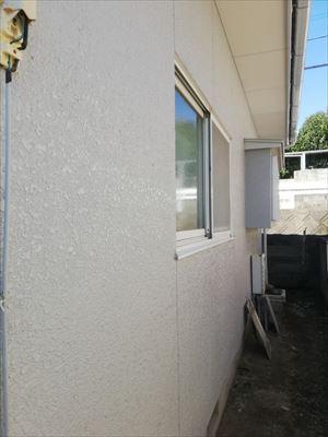外壁塗装工事後 モルタル