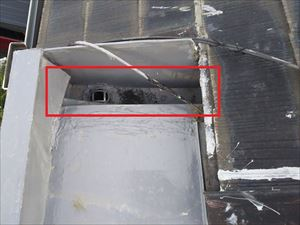 内樋 排水口