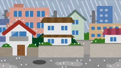 住まい 雨水を受け流す機能 ブログ