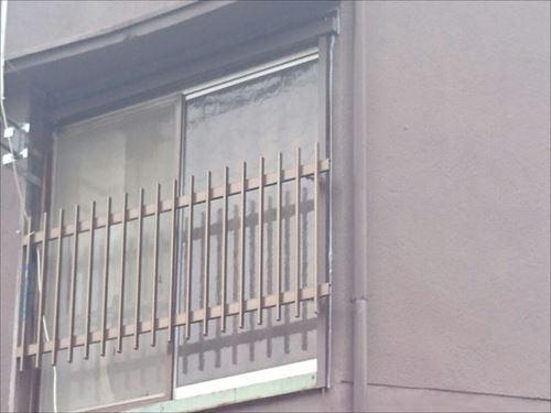 外部窓枠 雨漏れ対策