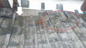 瓦屋根の劣化状況 コラム