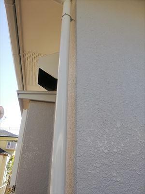 雨樋 塗装工事