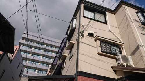 3階建住宅 現地調査