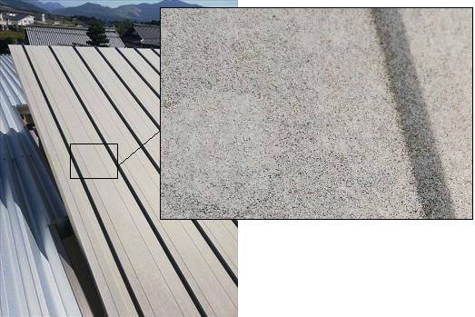 ガルバリウム鋼板屋根 現地調査