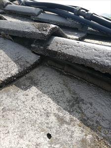 屋根瓦 ズレや歪み 雨漏り箇所
